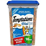 TEMPTATIONS MixUps Treats for Cats SURFER'S DELIGHT Flavor - 16 oz. Tub