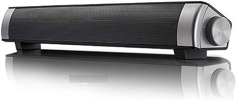 WOOPOWER - Barra de Sonido para televisor con Altavoz Bluetooth inalámbrico, Canal de Barra de Sonido 3.0 con subwoofer Integrado, Compatible con Optical/AUX/TF Tarjeta/USB, Negro: Amazon.es: Deportes y aire libre