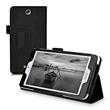 kwmobile Elegant synthetic leather case for Acer Iconia One 7 (B1-780) in black with convenient STAND FEATURE