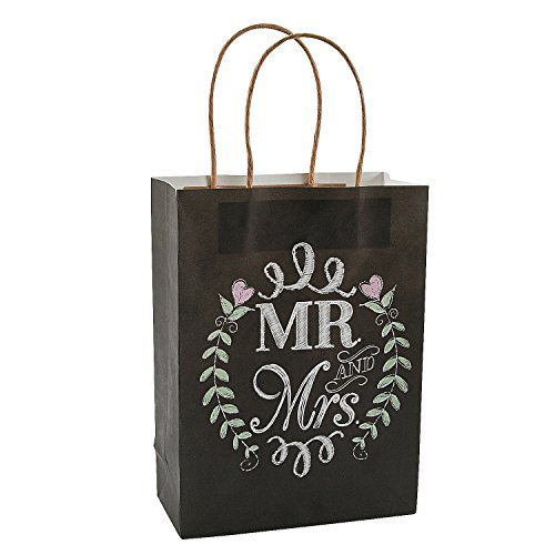 Mrs Chalkboard Wedding Gift Paper