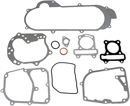 Complete Gasket Set for Scooters 50cc QMB139 4-Stroke Engines Scooter Parts Short Case 47mm Piston
