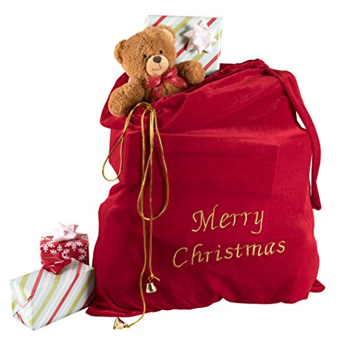 Kangaroo's Merry Christmas Santa Sack - Giant Paper Bag Costume