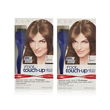 Amazon.com: Clairol Nice \'n Easy Root Touch-Up 5 Kit (Pack of 2 ...