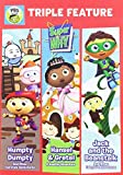 super why movie - Super WHY!: Triple Feature: Humpty Dumpty, Hansel & Gretel, and Jack and the Beanstalk DVD