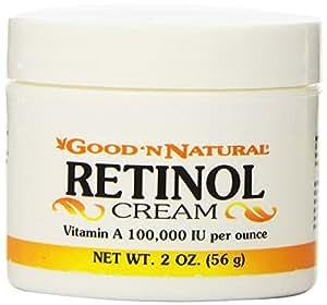 Retinol Cream (Vitamin A Cream) 100,000 IU per ounce - 2 Oz (Pack of 3)