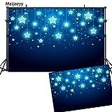 Maijoeyy 7x5ft Children Backdrop Photography Backdrops Blue Starry Night Backdrop for Kids Sky Star Backdrop Background Photography Props 91160597