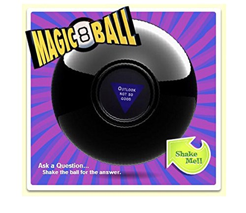 Geekfts Magic Ball 8 Magic 8 Ball 4 Inch Retro Edition Nostalgic Game by Geekfts