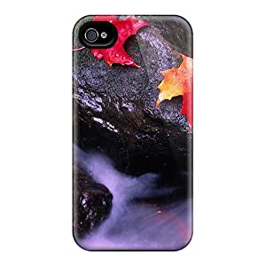 Premium Canada Rock Back Cover Snap On Case For Iphone 4/4s