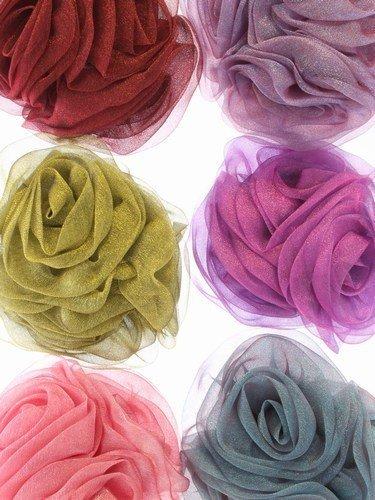 beak-hair-clip-brooch-pin-statement-chiffon-rose-hair-grip-slideapple-green-by-mias-accessories