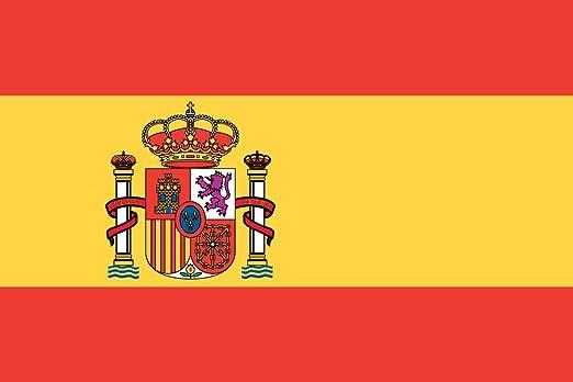 KiipFlag Bandera España Grande Bandera de España, Colores Vivos ...
