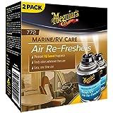 Meguiar's M77200 Marine/RV Air Re-Freshers (Pleasant Fiji Sunset Fragrance) - 2.5 oz. (2 cans)