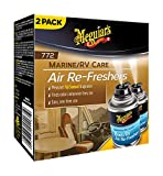 Automotive : Meguiar's M77200 Marine/RV Air Re-Freshers (Pleasant Fiji Sunset Fragrance) - 2.5 oz. (2 cans)