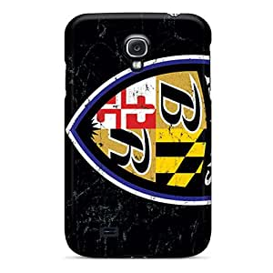 (rlS1548xGDM)durable Protection Cases Covers For Galaxy S4(baltimore Ravens)