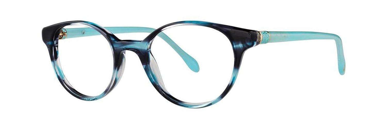 LILLY PULITZER Eyeglasses CARLTON Sky Havana