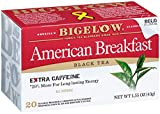 Bigelow Earl Grey Tea Bags, 20-Count Boxes (Pack of 6), Black Tea Bags with Oil of Bergamot, All Natural, Gluten Free, Rich in Antioxidants