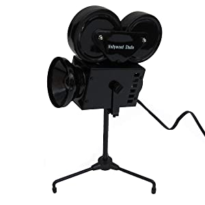 TG,LLC Adjustable Movie Set Camera Lamp Office Desk Light Home Theater Decor