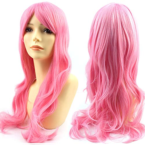 Modernfairy Hair Long Wavy Curly Hair Wig Types Realistic Synthetic Costume Wigs Cosplay Party for Women -