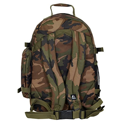 Everest Oversize Camo Camouflage Backpack Camo Oversize Camouflage One Backpack Size Everest Woodland Woodland Camouflage SrSBtp1qw