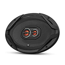 "JBL - 6"" x 9"" 3-Way Car Speakers with Polypropylene Cones (Pair) - Black"