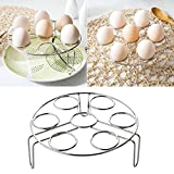 UNAKIM--Electric Pressure Cooker Steam Rack Egg Vegetable Steam Rack Stand Basket Set