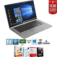 "LG gram 14.0"" Intel 8th Gen i7-8550U Ultra-Slim Touch Laptop - 14Z980-A.AAS7U1 + Elite Suite 18 Standard Editing Software Bundle + 1 Year Extended Warranty"