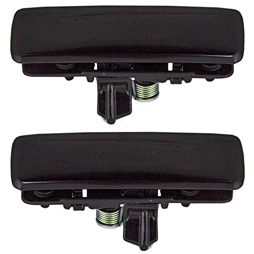 Driver and Passenger Front Outside Outer Door Handles Replacement for Chevrolet GMC Oldsmobile Van 12545595 12545596