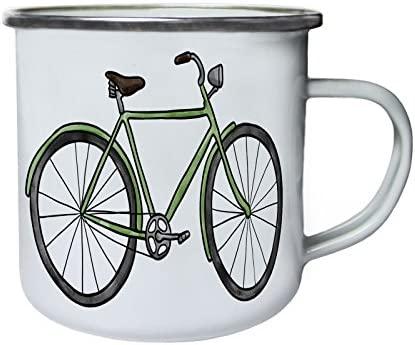 Bicicleta Retro Vintage Retro, lata, taza del esmalte 10oz/280ml ...