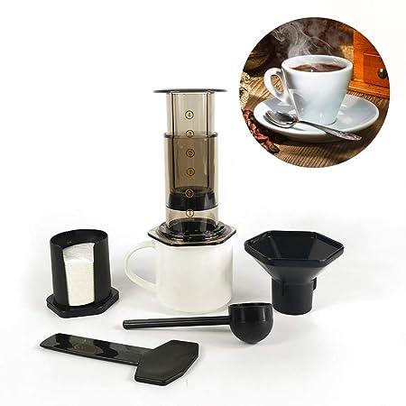 350 ml Nuevo filtro Cristal Café expreso Cafetera portátil ...