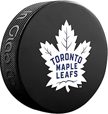 Toronto Maple Leafs Sher-Wood NHL Official Basic Souvenir Hockey Puck