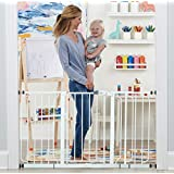 Regalo 56-Inch Extra WideSpan Walk Through Baby Gate, Bonus Kit, Includes 4-Inch, 8-Inch and 12-Inch Extension