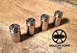 Hollow-Point Gear Silver Bullet Valve Caps