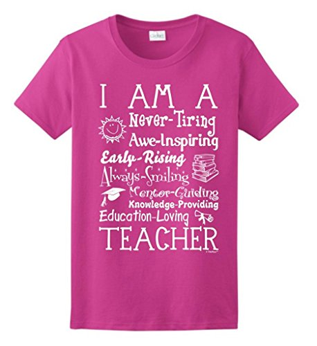 Teacher Poem Ladies T Shirt