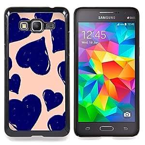 "Daisy Vignette Arte Primavera Naturaleza Verde"" - Metal de aluminio y de plástico duro Caja del teléfono - Negro - Samsung Galaxy Grand Prime G530F G530FZ G530Y G530H G530FZ/DS"