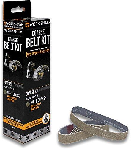 (Work Sharp Ken Onion X65 Belt Kit WKS03909)