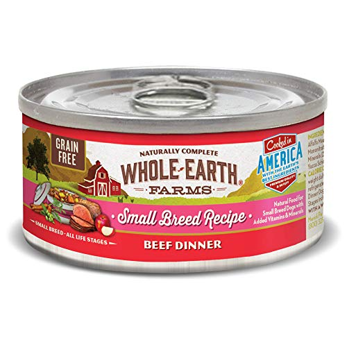 Whole Earth Farms Grain Free Recipe Turkey Small Breed Canned