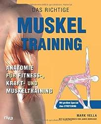 Das richtige Muskel Training: Anatomie für Fitness-, Kraft- und Muskeltraining