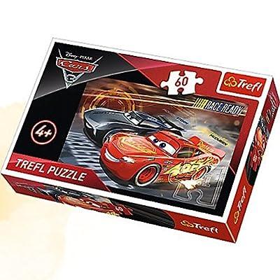Trefl 17297 Cars 3 Puzzle, Multi: Toys & Games [5Bkhe2005084]