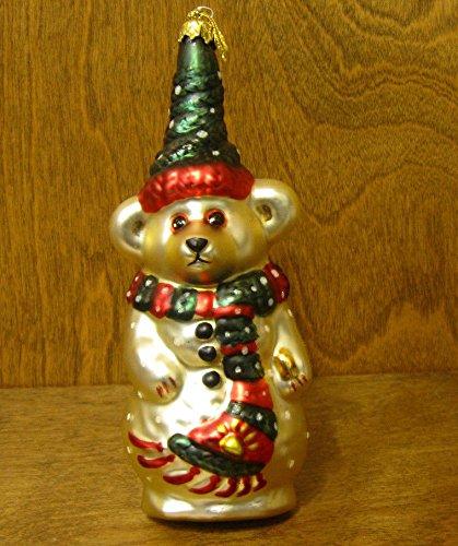- Boyds Bears Resin Olaf Ornament Christmas Snowman - Glass 6.50 IN