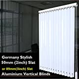 """High Quality 2''Aluminium Durable Vertical Blinds Curtain,Websize Priced at Manual(1pc,39"""" W x 39""""L)Contact"""