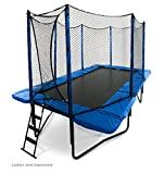 JumpSport 10'x17' StagedBounce | Includes Rectangular Trampoline,...