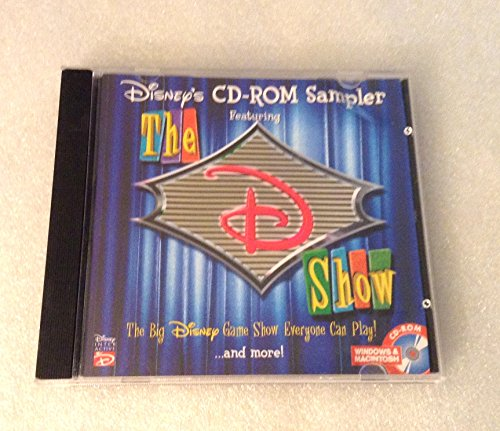 Disney's CD-Rom Sampler The D Show Windows & MacIntosh