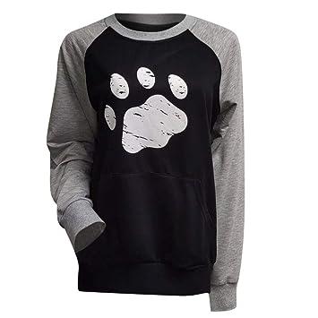 Amazon.com: NANTE Top Loose Blusa para mujer, diseño de ...