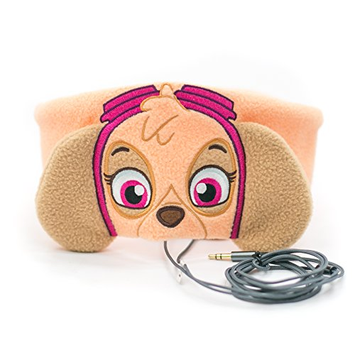 Paw Patrol Kids Headphones by CozyPhones - Volume Limited with Ultra-Thin Speakers & Comfortable Soft Fleece Headband - Perfect Children's Earphones for School, Home and Travel – SKYE Photo #5