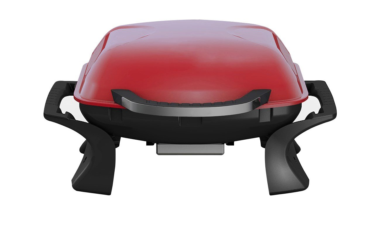 Grill Grill tragbar Holzkohlegrill Qlima PC1015rot–Portable Charcoal