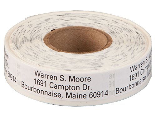 (Personalized Large Print Self-Stick Address Labels 500 - White)