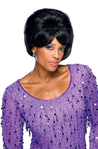 [Rubie's Costume Dreamgirls Leader Adult Wig, Black, One Size] (60s Girl Costumes)
