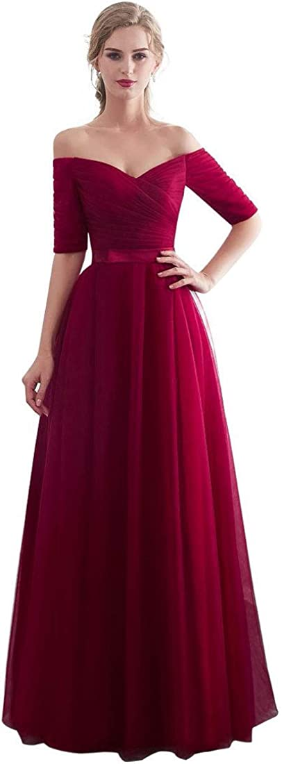 The Best Apple Red Bridesmaid Dresses Long
