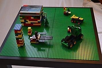 LEGO PLAY TABLE   BLACK COLOR   COMPATIBLE WITH LEGO, DUPLO U0026 MEGABLOCKS.  PERFECT