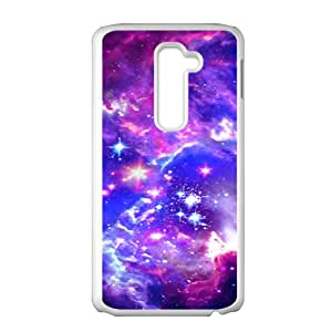YESGG Galaxy Hipster Cat Cell Phone Case for LG G2