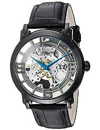 Stuhrling Original Men's 165B2.335569 Winchester 44 Automatic Skeleton Black Dial Watch